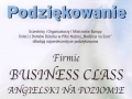 Business Class referencje Stowarzyszenie Nadzieja na Euro sponsoring 2012